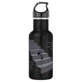 Some people are like slinkies. stainless steel water bottle