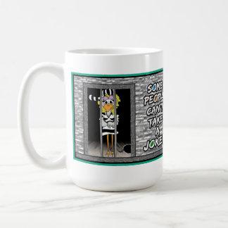 Some People Can't Take a Joke: Jailbird mug