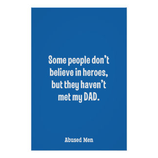 Some People Don't Believe In Heroes … Poster