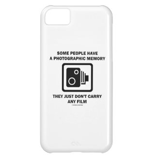 Some People Have A Photographic Memory (Camera) Case For iPhone 5C