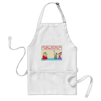 some reign must fall king aprons