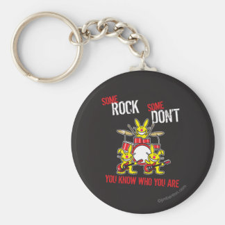 Some Rock Keychain