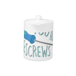Some Screws Loose Teapot