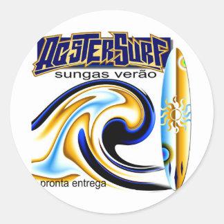 (some selected products) custumização of imag classic round sticker