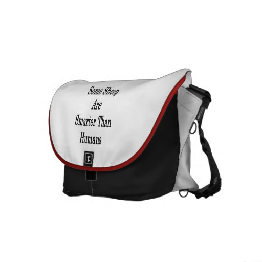 Some Sheep Are Smarter Than Humans Commuter Bag
