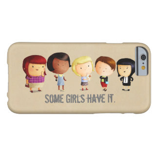 Some Subculture Girls Barely There iPhone 6 Case