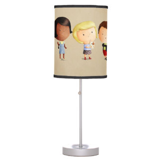Some Subculture Girls Desk Lamp
