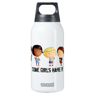 Some Subculture Girls Insulated Water Bottle