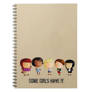 Some Subculture Girls Note Books