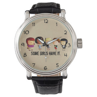 Some Subculture Girls Wrist Watch