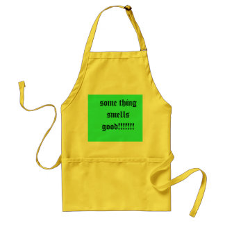 some thing smells good!!!!!!! adult apron