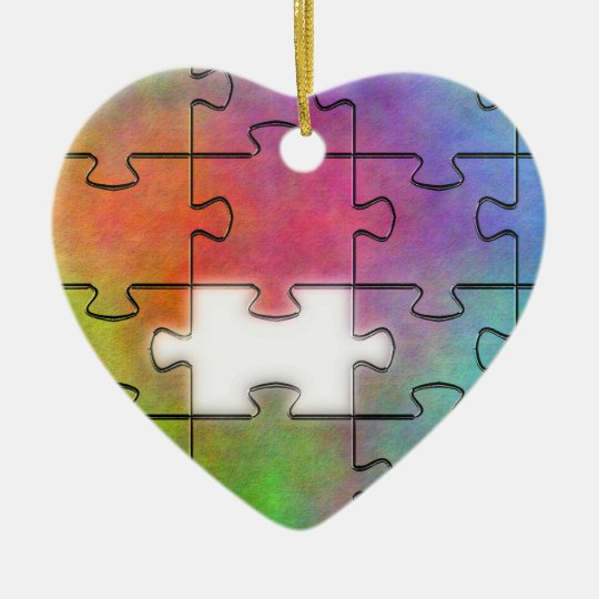 Some Times All I Need - Autism Heart Ornament