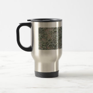 Some weird lichens on a rock 15 oz stainless steel travel mug