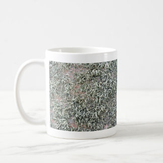 Some weird lichens on a rock classic white coffee mug