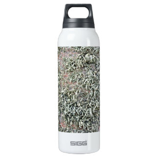 Some weird lichens on a rock 16 oz insulated SIGG thermos water bottle