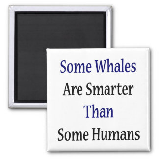Some Whales Are Smarter Than Some Humans Magnet