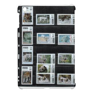 Some Zazzle custom stamps by dorinco iPad Mini Case