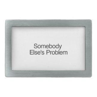 Somebody Else s Problem ai Belt Buckles