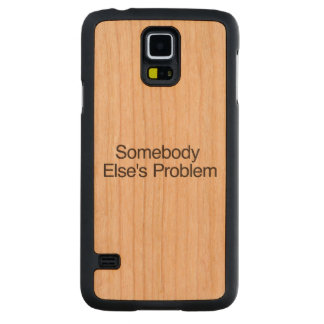 Somebody Else s Problem ai Cherry Galaxy S5 Slim Case
