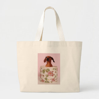 Somebody get me outta of here large tote bag