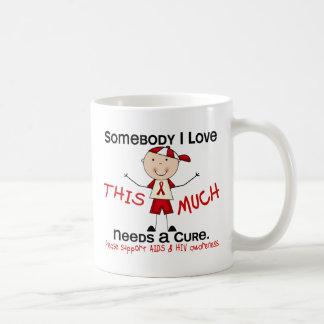 Somebody I Love - AIDS Boy Mugs
