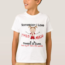 Somebody I Love - AIDS (Girl) T-Shirt