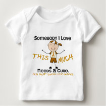 Somebody I Love - Appendix Cancer (Boy) Baby T-Shirt