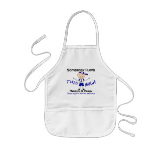 Somebody I Love - Arthritis (Boy) Kids' Apron