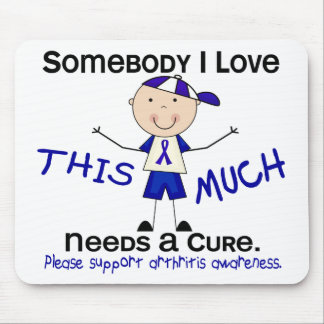 Somebody I Love - Arthritis Boy Mouse Pad