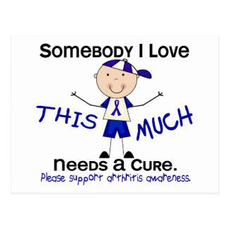 Somebody I Love - Arthritis (Boy) Postcards