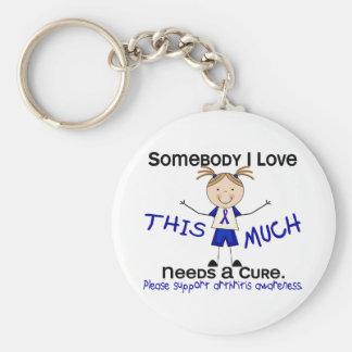 Somebody I Love - Arthritis  (Girl) Key Chains