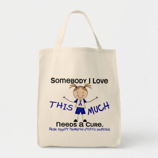 Somebody I Love - Arthritis Rheumatoid (Girl) Tote Bag