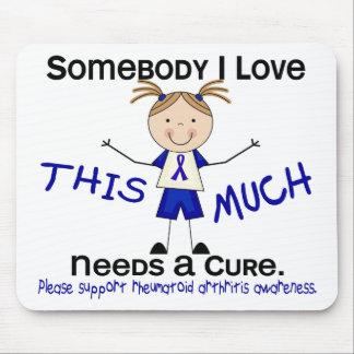 Somebody I Love - Arthritis Rheumatoid Girl Mousepads
