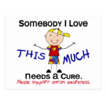 Somebody I Love - Autism (Boy) Postcard