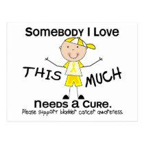 Somebody I Love - Bladder Cancer (Boy) Postcard