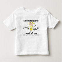 Somebody I Love - Bladder Cancer (Boy) Toddler T-shirt