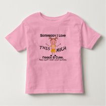 Somebody I Love - Bladder Cancer (Girl) Toddler T-shirt