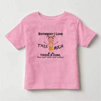 Somebody I Love - Bladder Cancer (Girl) Toddler T-shirt