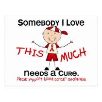 Somebody I Love - Blood Cancer (Boy) Postcard