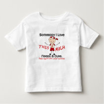 Somebody I Love - Blood Cancer (Boy) Toddler T-shirt