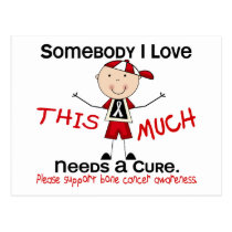 Somebody I Love - Bone Cancer (Boy) Postcard