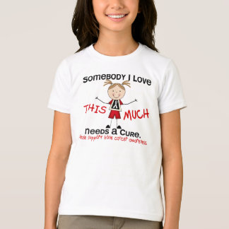 Somebody I Love - Bone Cancer (Girl) T-Shirt