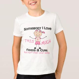 Somebody I Love - Breast Cancer (Boy) T-Shirt
