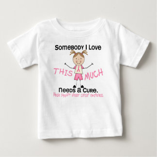 Somebody I Love - Breast Cancer (Girl) Infant T-shirt