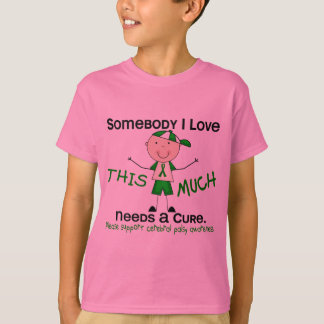 Somebody I Love - Cerebral Palsy (Boy) T-Shirt