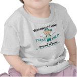 Somebody I Love - Cervical Cancer (Boy) T-shirts