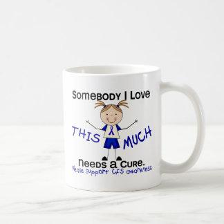 Somebody I Love - CFS Girl Coffee Mug