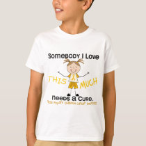 Somebody I Love - Childhood Cancer (Girl) T-Shirt
