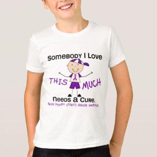 Somebody I Love - Crohns Disease (Boy) T-Shirt