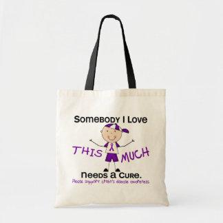 Somebody I Love - Crohns Disease (Boy) Tote Bag
